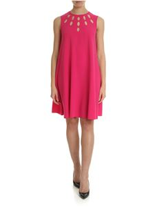 Pinko - Ponderato fuchsia dress