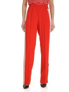 Pinko - Degno coral-red trousers