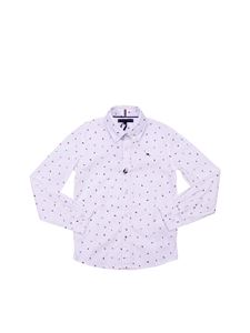 Tommy Hilfiger - White shirt with Tommy logos