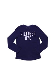Tommy Hilfiger - Blue T-shirt with NYC logo