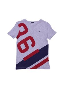 Tommy Hilfiger - Nautical Numbers gray t-shirt