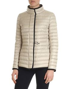 Fay - Fay quilted beige quilted jacket