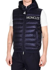 Moncler - Laruns dark blue down jacket