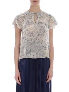 Red Valentino - Ivory white silk top