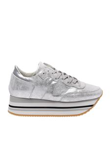 Philippe Model - Silver Eild sneakers
