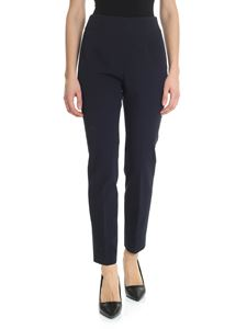 Peserico - Blue stretch trousers