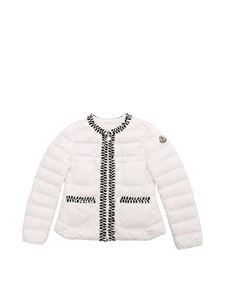 Moncler Jr - White Hiva down jacket