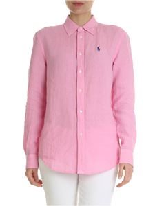 POLO Ralph Lauren - Pink shirt with contrasting logo