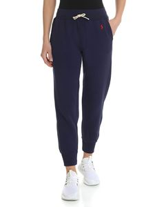 POLO Ralph Lauren - Blue trousers with contrasting logo
