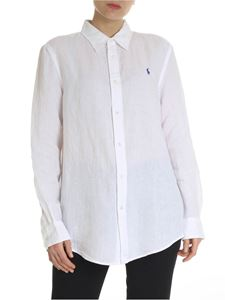 POLO Ralph Lauren - White shirt with contrasting logo