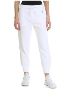 POLO Ralph Lauren - White trousers with contrasting logo