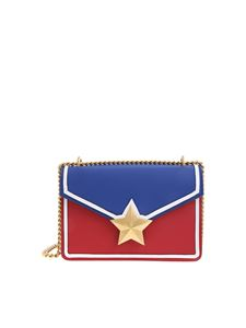 Les Jeunes Etoiles - Vega Trim bag in red and blue