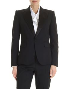 Dsquared2 - Black jacket with silk edges