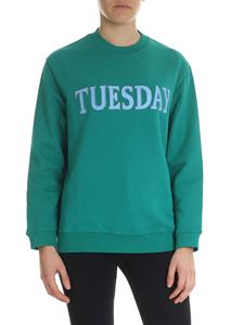 Alberta Ferretti - Tuesday green sweatshirt