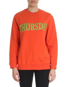 Alberta Ferretti - Thursday orange sweatshirt
