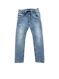 Diesel - Light blue Krooley-Ne-J JoggJeans