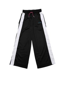 Diesel - Black and white Probin trousers