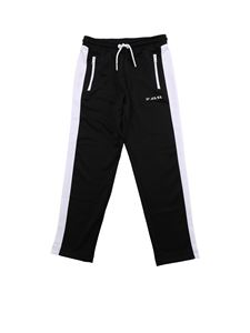 Diesel - Black and white Pska trousers