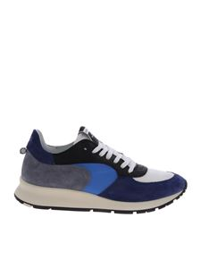 Philippe Model - Montecarlo blue and white sneakers
