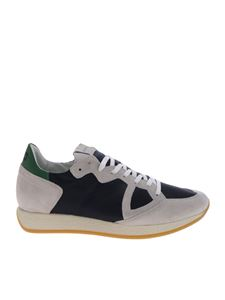 Philippe Model - Monaco Vintage blue sneakers