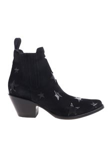 Mexicana - Circus black Texan boots by Mexicana