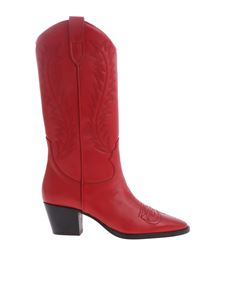 Paris Texas - Paris Texas red leather boots