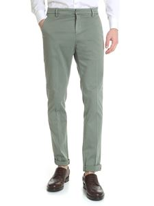 Dondup - Gaubert green chino trousers