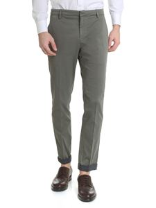 Dondup - Gaubert Chino green trousers