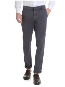 Dondup - Gaubert Chino gray trousers