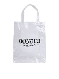 Dondup - Dondup transparent shopper bag