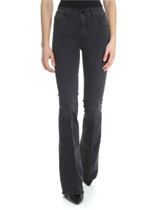 Frame - Le High Flare jeans in black