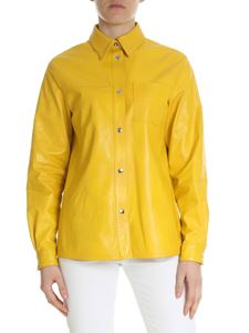 Fay - Fay yellow genuine leather shirt