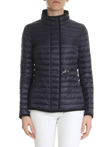 Fay - Quilted blue Fay jacket