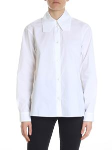 MM6 by Maison Martin Margiela - Camicia oversize bianca in cotone