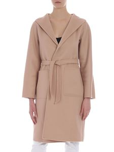 Max Mara - Lilia coat in peach color cashmere