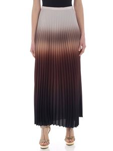 Max Mara - Abatina skirt in degradé brown