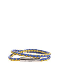 Tod's - My Colors bracelet in woven leather