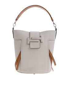 Tod's - White Double T bucket bag