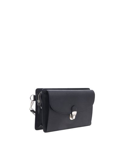 Tod's - Men's briefcase in black leather