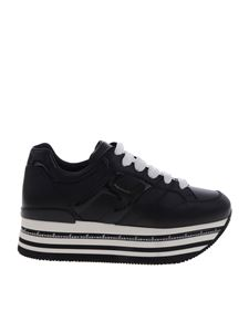 Hogan - Sneakers Max H413 donna nere