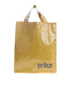 Erika Cavallini - Yellow bag in pvc by Erika Cavallini