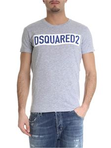Dsquared2 - Gray t-shirt with applied logo