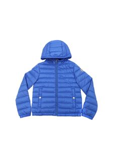 Moncler Jr - New Morvan down jacket in light blue