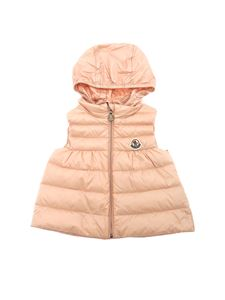 Moncler Jr - New Suzette pink down jacket