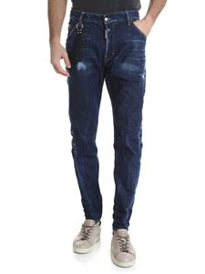 Dsquared2 - Jeans Classic Kenny blu scuro