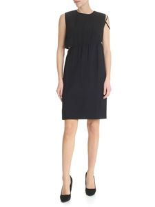 Helmut Lang - Asymmetrical black dress