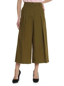 Erika Cavallini - Army green crop trousers