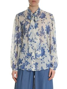 Semicouture - Cream-colored floral shirt