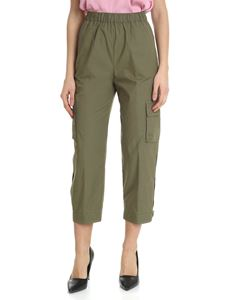 Semicouture - Green trousers with patch pockets