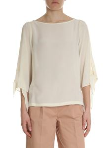 Semicouture - Ivory silk blouse